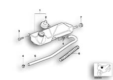 Goto diagram: BMW Classic Motorrad Modell G 650 GS Sertão (0136, 0146)( ECE ), Category 17.13 Radiator :: Diagram: 17_0195