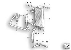 Goto diagram: BMW Classic Motorrad Modell HP2 Enduro (0369,0389)( ECE ), Category 17.21 OIL COOLER/OIL COOLING PIPE :: Diagram: 17_0356