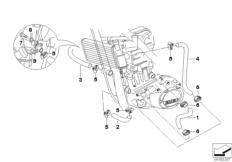 Goto diagram: BMW Classic Motorbike Model G 650 GS 09 (0178,0179)( ECE ), Category 17.12 Radiator hoses/temperature sensor :: Diagram: 17_0480