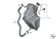 Goto diagram: BMW Classic Motorrad Modell R 1200 RT (0A03, 0A13)( USA ), Category 17.13 EXPANSION TANK :: Diagram: 17_0684