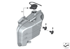 Goto diagram: BMW Classic Motorrad Modell G 310 GS (0G02, 0G12)( USA ), Category 17.13 EXPANSION TANK :: Diagram: 17_1091