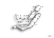 Goto diagram: BMW Classic Motorbike Model R 1100 GS 94 (0404,0409)( USA ), Category 18.51 Muffler :: Diagram: 18_0288