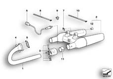 Goto diagram: BMW Classic Motorbike Model R 1200 C Indep. 03 (0362,0391)( USA ), Category 18.51 Exhaust system parts with mounting :: Diagram: 18_0301