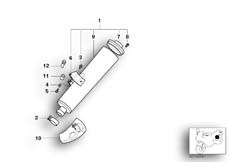 Goto diagram: BMW Classic Motorbike Model R 1150 GS Adv. 01 (0441,0492)( USA ), Category 18.51 Rear silencer :: Diagram: 18_0392