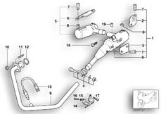 Goto diagram: BMW Classic Motorbike Model G 650 GS 09 (0178,0179)( ECE ), Category 18.51 Exhaust system parts with mounting :: Diagram: 18_0407