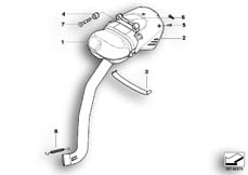 Goto diagram: BMW Classic Motorrad Modell R 1200 S (0366,0396)( ECE ), Category 18.51 Muffler system :: Diagram: 18_0644