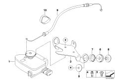 Goto diagram: BMW Classic Motorrad Modell HP2 Sport (0458, 0468)( ECE ), Category 18.51 Exhaust flap :: Diagram: 18_0758