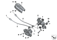 Goto diagram: BMW Classic Motorrad Modell R 1200 R (0A04, 0A14)( ECE ), Category 18.51 Exhaust flap :: Diagram: 18_0999