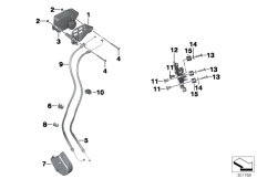 Goto diagram: BMW Classic Motorrad Modell HP4 (0D01, 0D11)( ECE ), Category 18.51 Exhaust flap :: Diagram: 18_1005