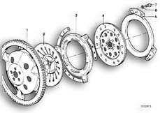 Goto diagram: BMW Classic Motorbike Model R 80, R 80 /7( ECE ), Category 21.05 CLUTCH PLATE :: Diagram: 21_0067