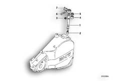 Goto diagram: BMW Classic Motorbike Model F 650 ST 97 (0163,0168)( USA ), Category 21.51 Clutch control :: Diagram: 21_0077