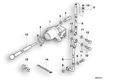 Goto diagram: BMW Classic Motorbike Model K 1200 GT 01 (0548,0558)( USA ), Category 21.52 Clutch control :: Diagram: 21_0083