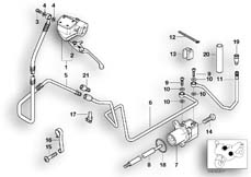 Goto diagram: BMW Classic Motorbike Model R 1200 C Indep. 03 (0362,0391)( USA ), Category 21.52 Clutch control :: Diagram: 21_0092