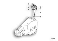 Goto diagram: BMW Classic Motorbike Model G 650 GS 09 (0178,0179)( ECE ), Category 21.51 Clutch control :: Diagram: 21_0156