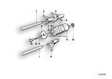 Goto diagram: BMW Classic Motorrad Modell K 100 RS 83 (0502,0503,0513)( USA ), Category 23.05 5-SPEED TRANSMISSION - GEARSHIFT :: Diagram: 23S0275