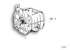 Goto diagram: BMW Classic Motorrad Modell R 80 R 91( ECE ), Category 23.05 5-speed gearbox :: Diagram: 23_0248
