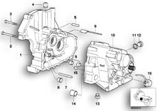 Goto diagram: BMW Classic Motorbike Model R 1200 C Indep. 00 (0405,0433)( ECE ), Category 23.11 Gearbox housing/mounting parts :: Diagram: 23_0760