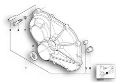 Goto diagram: BMW Classic Motorbike Model K 1200 GT 01 (0548,0558)( USA ), Category 23.11 Gearbox housing/cover :: Diagram: 23_0849