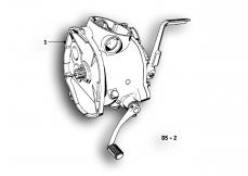 Goto diagram: BMW Classic Motorrad Modell R69 S( ECE ), Category 23.05 Gearbox :: Diagram: 23_0857