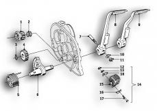 Goto diagram: BMW Classic Motorrad Modell R69 S( ECE ), Category 23.05 Gearbox :: Diagram: 23_0864