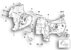 Goto diagram: BMW Classic Motorbike Model R 1150 GS Adv. 01 (0441,0492)( USA ), Category 23.11 Gearbox housing/mounting parts :: Diagram: 23_0871