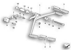 Goto diagram: BMW Classic Motorbike Model R 1200 CL (0442,0496)( USA ), Category 23.41 External gearshift parts/Shift lever :: Diagram: 23_0920