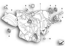 Goto diagram: BMW Classic Motorbike Model R 1200 R 06 (0378,0398)( USA ), Category 23.05 Manual gearbox :: Diagram: 23_0963