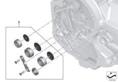 Goto diagram: BMW Classic Motorrad Modell R 1200 RS (0A05, 0A15)( USA ), Category 23.12 Set cams.bearing transmission engine end :: Diagram: 23_1333