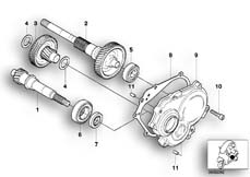 Goto diagram: BMW Classic Motorrad Modell C1 (0191)( ECE ), Category 24.21 Variator/reduction gear :: Diagram: 24_0984