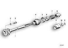 Goto diagram: BMW Classic Motorbike Model R65( USA ), Category 26.05 Drive Shaft :: Diagram: 26_0112