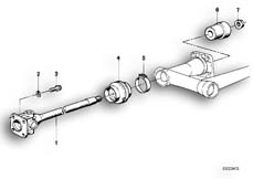Goto diagram: BMW Classic Motorbike Model R90/6( ECE ), Category 26.05 Drive Shaft :: Diagram: 26_0113