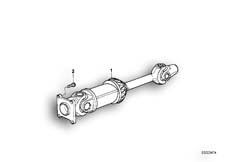 Goto diagram: BMW Classic Motorrad Modell R 80 R 91( ECE ), Category 26.05 Drive Shaft :: Diagram: 26_0115