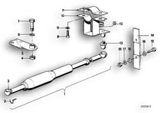 Goto diagram: BMW Classic Motorbike Model R75/5( ECE ), Category 31.10 STEERING DAMPER :: Diagram: 31_0310