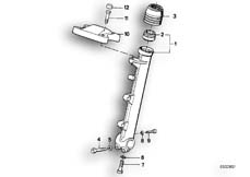 Goto diagram: BMW Classic Motorbike Model R 80 RT( USA ), Category 31.10 FORK SLIDER :: Diagram: 31_0362