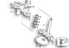 Goto diagram: BMW Classic Motorbike Model G 650 GS 09 (0178,0179)( ECE ), Category 31.42 Fork bridge :: Diagram: 31_0559