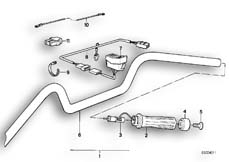 Goto diagram: BMW Classic Motorrad Modell R 80 R 91( ECE ), Category 32.15 Retrofit kit, heated handle :: Diagram: 32S0766