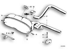 Goto diagram: BMW Classic Motorbike Model R65( USA ), Category 32.05 Handlebar :: Diagram: 32_0741