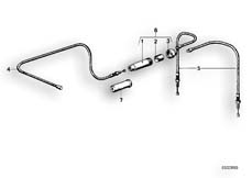 Goto diagram: BMW Classic Motorbike Model R 100 RS( USA ), Category 32.20 Choke cable :: Diagram: 32_0745