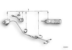 Goto diagram: BMW Classic Motorbike Model R 80 RT( USA ), Category 32.15 Retrofit kit, heated handle :: Diagram: 32_0771