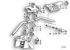Goto diagram: BMW Classic Motorbike Model K 100 RS (0523,0533)( USA ), Category 32.05 Handlebar :: Diagram: 32_0774