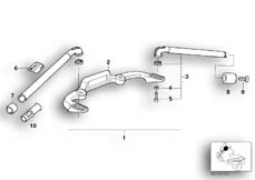 Goto diagram: BMW Classic Motorbike Model R 1100 RS 93 (0411,0416)( ECE ), Category 32.71 ADJUSTABLE HANDLE BAR/SINGLE PARTS :: Diagram: 32_0788