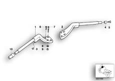Goto diagram: BMW Classic Motorrad Modell R 1100 R 94 (0402,0407)( USA ), Category 32.71 Heated handle at handle-bar :: Diagram: 32_0805