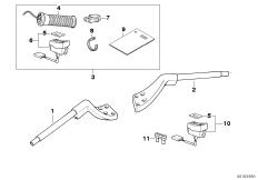 Goto diagram: BMW Classic Motorrad Modell R 1100 R 94 (0402,0407)( USA ), Category 32.71 HEATED HANDGRIP/MOUNTING PARTS :: Diagram: 32_0925