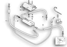 Goto diagram: BMW Classic Motorbike Model R 1150 GS Adv. 01 (0441,0492)( USA ), Category 32.73 Bowden cable/cable distributor :: Diagram: 32_0965