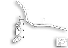 Goto diagram: BMW Classic Motorbike Model R 1200 C Indep. 00 (0405,0433)( ECE ), Category 32.71 Handlebar Avantgarde :: Diagram: 32_1157