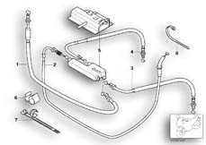 Goto diagram: BMW Classic Motorbike Model R 1150 RT 00 (0419,0499)( USA ), Category 32.73 Bowden cable/cable distributor :: Diagram: 32_1273