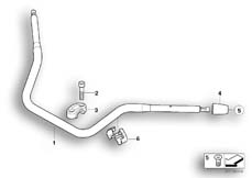 Goto diagram: BMW Classic Motorbike Model R 1200 CL (0442,0496)( USA ), Category 32.71 Handlebar :: Diagram: 32_1386