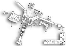 Goto diagram: BMW Classic Motorrad Modell K 1300 GT (0538,0539)( USA ), Category 32.71 Handlebar :: Diagram: 32_1649