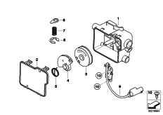 Goto diagram: BMW Classic Motorrad Modell R 900 RT 05 SF (0367,0387)( ECE ), Category 32.73 CABLE DISTRIBUTOR :: Diagram: 32_1938