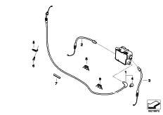 Goto diagram: BMW Classic Motorrad Modell R 900 RT 10 SF (0330,0340)( ECE ), Category 32.73 bowden cables :: Diagram: 32_1959